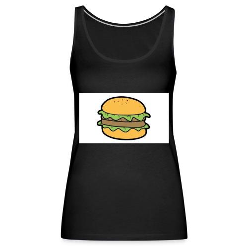 BurgerShirt - Débardeur Premium Femme