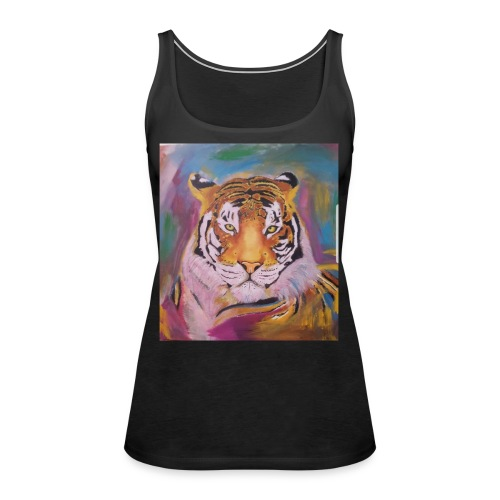 The Tiger Of Diffrent Shades - Premiumtanktopp dam