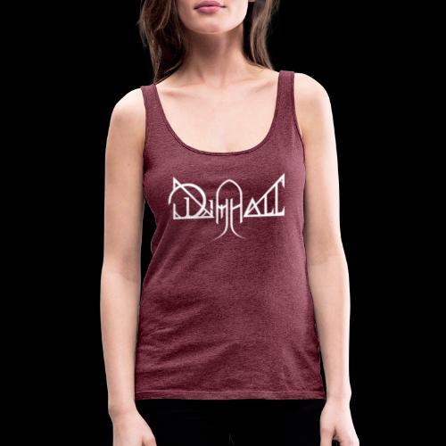 Dimhall White - Women's Premium Tank Top