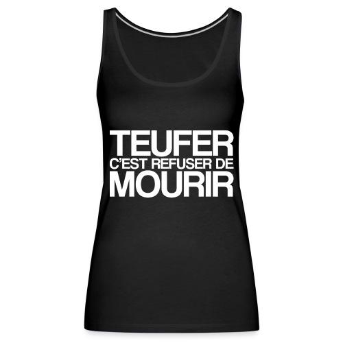 TEUFER - Débardeur Premium Femme