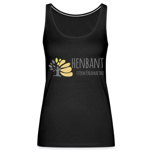 henbant logo - Women's Premium Tank Top