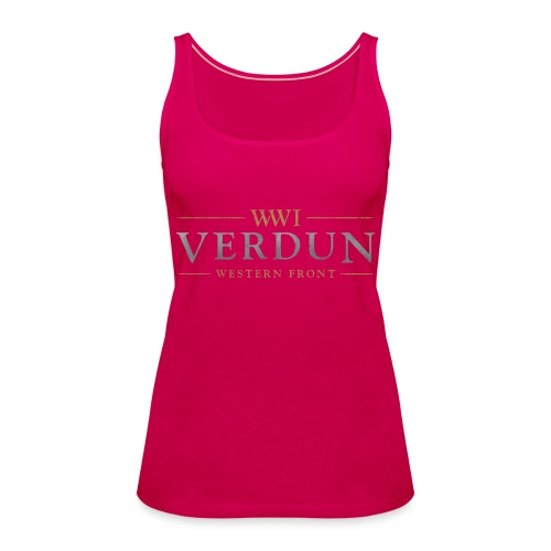 New Verdun Official Logo - Vrouwen Premium tank top