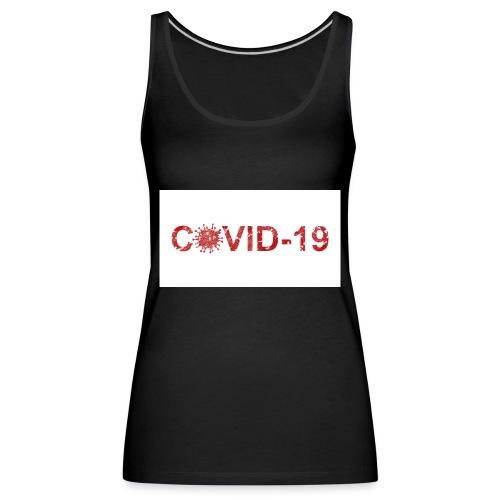 covid 19 - Camiseta de tirantes premium mujer