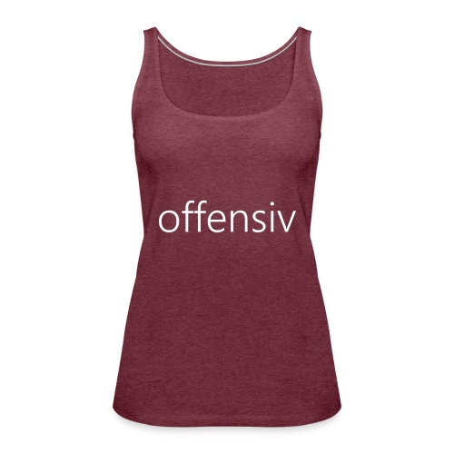 offensiv t-shirt (børn) - Dame Premium tanktop
