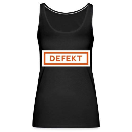 Defekt - Frauen Premium Tank Top