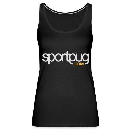 SportPug.com - Naisten premium hihaton toppi