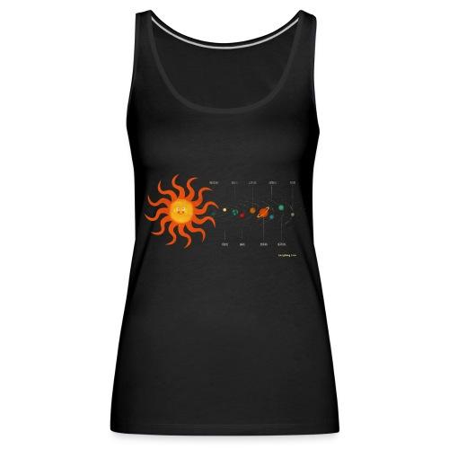 Solar System - Women's Premium Tank Top
