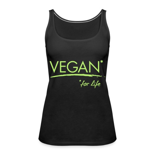 vegan for life 1c - Frauen Premium Tank Top