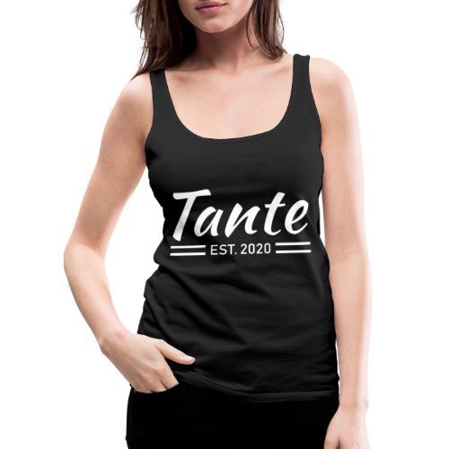 Stolze Tante 2020 Shirt Geschenk - Frauen Premium Tank Top