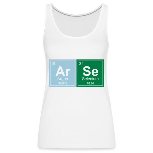 Geeky Arse Periodic Elements - Women's Premium Tank Top