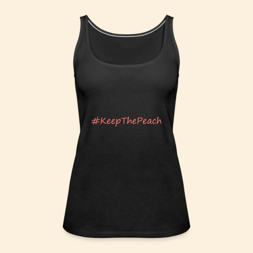 Hashtag KeepThePeach Corail - Débardeur Premium Femme