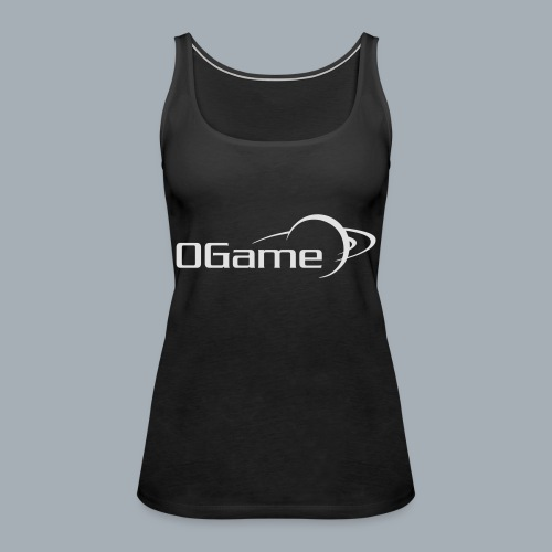 OGame Women´s T-Shirt with rolled up sleeves - Women's Premium Tank Top