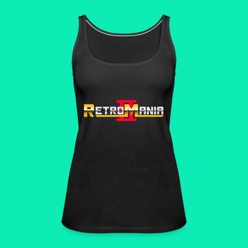 Retro Mania II - Logo - Frauen Premium Tank Top