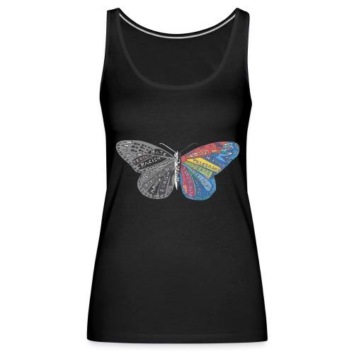 butterfly effect - Frauen Premium Tank Top