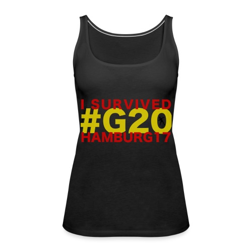 G20 transparent - Frauen Premium Tank Top