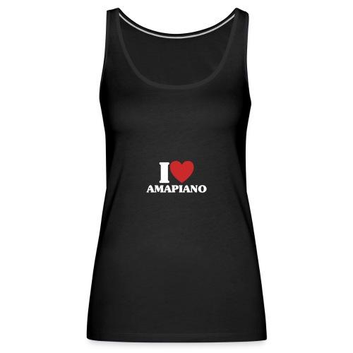 AMAPIANO 02 - Camiseta de tirantes premium mujer
