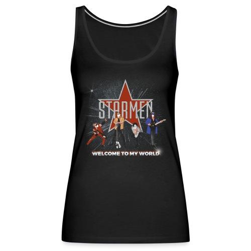 Starmen - Welcome To My World - Women's Premium Tank Top