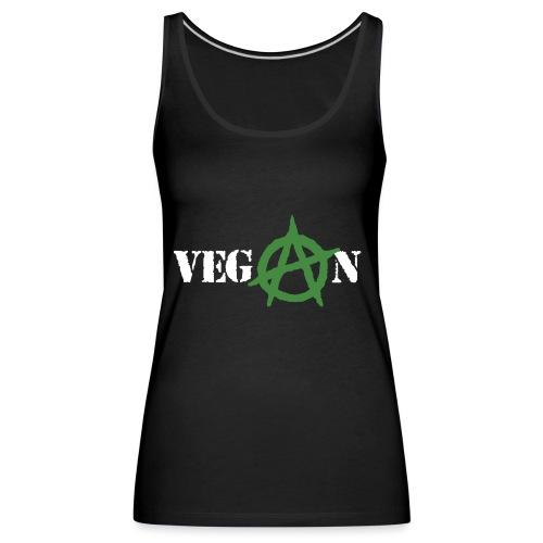 vegan anarchy - Canotta premium da donna