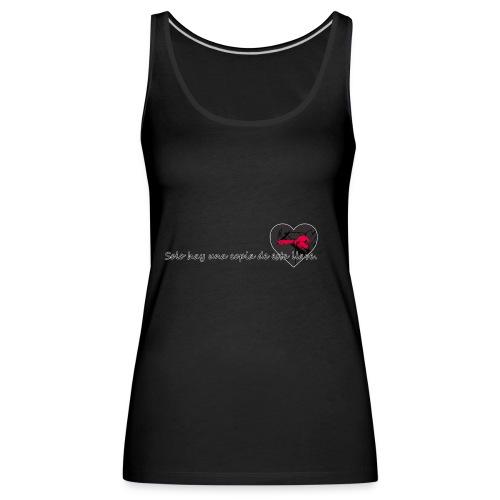 CORAZON LLAVE - Camiseta de tirantes premium mujer