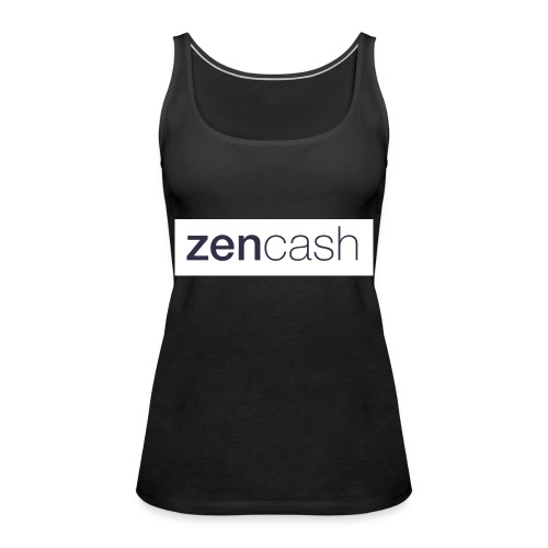 ZenCash CMYK_Horiz - Full - Women's Premium Tank Top