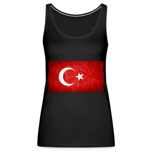 Türkei Flagge - Frauen Premium Tank Top