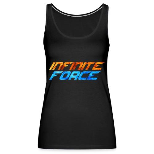 t-shirt de la team Infinite Force - Débardeur Premium Femme