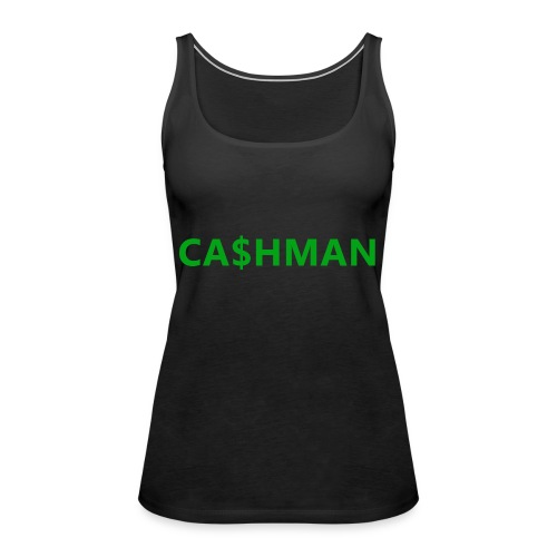 cashman - Naisten premium hihaton toppi