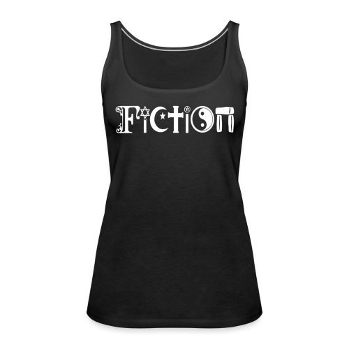 Fiction weiss - Frauen Premium Tank Top