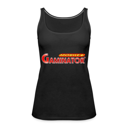 Gaminator logo - Women's Premium Tank Top