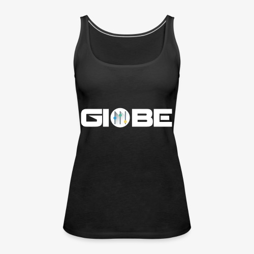 Official Merchandise Of GIOBE - Canotta premium da donna