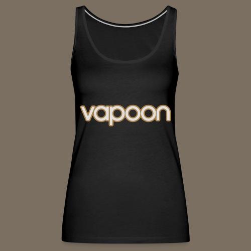 Vapoon Logo simpel 2 Farb - Frauen Premium Tank Top