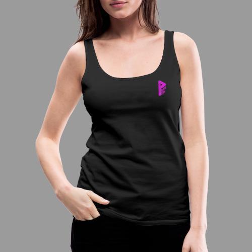 Logo pink - Frauen Premium Tank Top