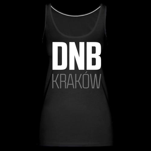 DNB KRAKÓW SQ BLACK - Tank top damski Premium