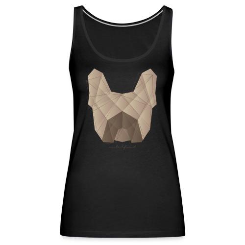 Geometric Frenchie fawn - Französische Bulldogge - Frauen Premium Tank Top