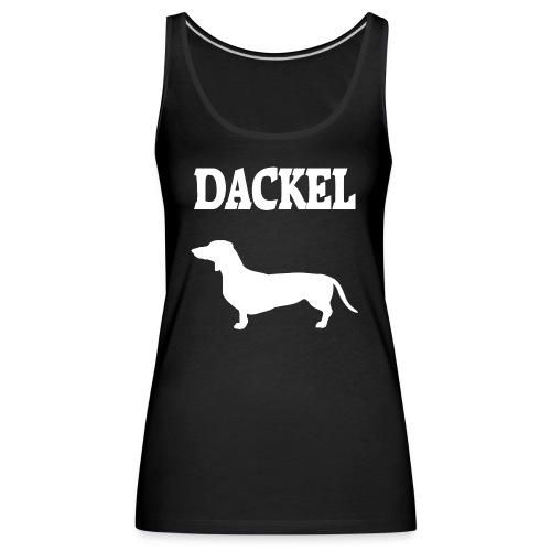 Dackel - Frauen Premium Tank Top