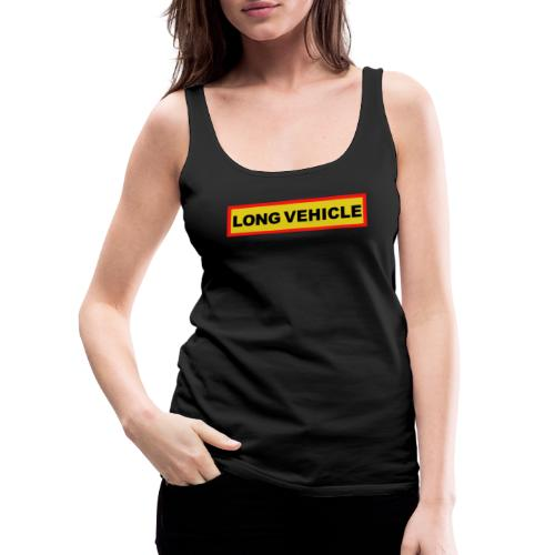 Long Vehicle - Frauen Premium Tank Top