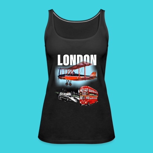 London by day and night! - Women's Premium Tank Top