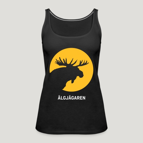 Älgjägaren - moose hunter (swedish version) - Frauen Premium Tank Top