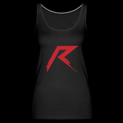 Raffie Logo - Vrouwen Premium tank top
