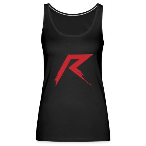 R Logo - Vrouwen Premium tank top