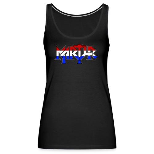 martyr_rwb_logo - Vrouwen Premium tank top