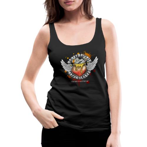 Honeydrippin' razorblades - Frauen Premium Tank Top