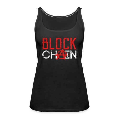 Blockchain Technology Crypto - Frauen Premium Tank Top