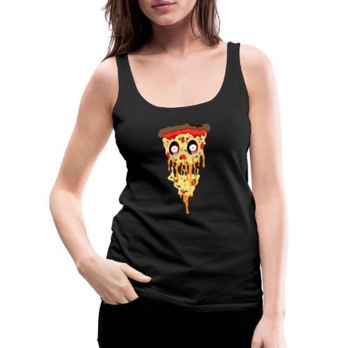Schockierte Horror Pizza - Frauen Premium Tank Top