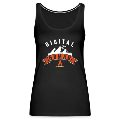 Digital Nomad - Frauen Premium Tank Top