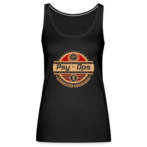PSY - OPS RED - Women's Premium Tank Top