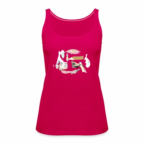 Pintular - Camiseta de tirantes premium mujer