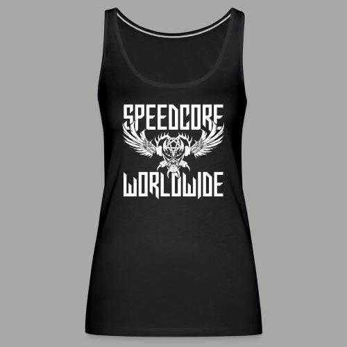 Speedcore Worldwide 2K19 - Frauen Premium Tank Top