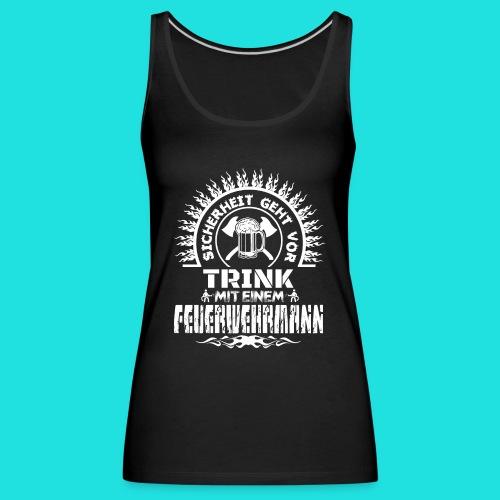 Feuerwehrmann - Frauen Premium Tank Top