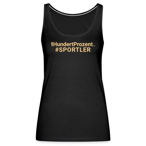 Sportler - Frauen Premium Tank Top
